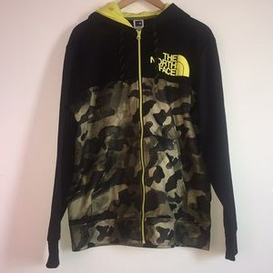 The North Face camouflage Men Hoodie